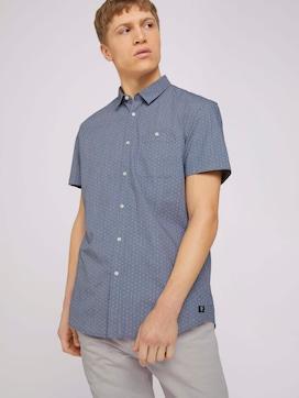 gemustertes Hemd aus Bio-Baumwolle - 5 - TOM TAILOR Denim