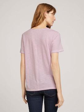 T-Shirt mit Bio-Baumwolle  - 2 - TOM TAILOR