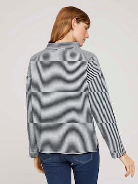 Sweatshirt mit Ottomanstruktur - 2 - TOM TAILOR