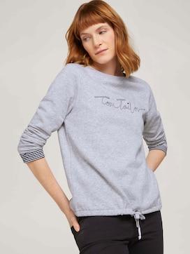 Sweatshirt mit Bio-Baumwolle  - 5 - TOM TAILOR