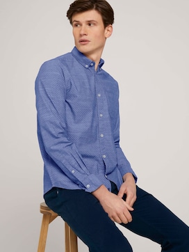 print shirt made with organic cotton   - 5 - TOM TAILOR