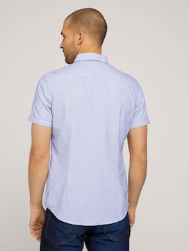 fitted smart dobby shirt - 2 - TOM TAILOR