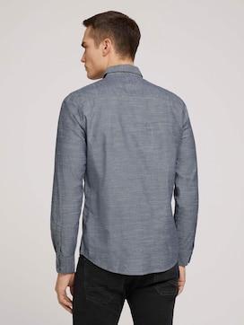 regular smart slub shirt made with organic cotton  - 2 - TOM TAILOR
