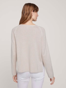 sweater with a side slit - 2 - TOM TAILOR