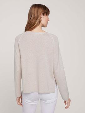 Pullover mit Seitenschlitz - 2 - TOM TAILOR
