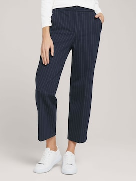 gestreifte Cropped Lea Hose - 1 - TOM TAILOR