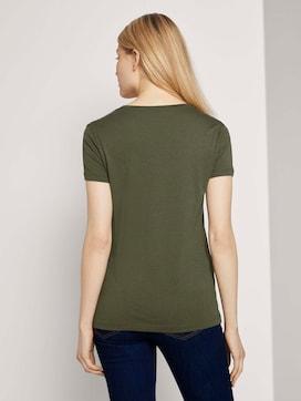 Basic T-Shirt aus Modalgemisch - 2 - TOM TAILOR