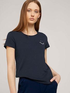 T-Shirt mit Print mit Bio-Baumwolle  - 5 - TOM TAILOR Denim