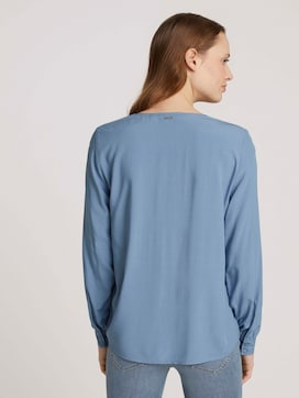 Blouse met ballonarmen - 2 - TOM TAILOR Denim