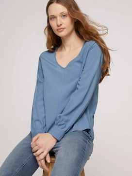 Blouse met ballonarmen - 5 - TOM TAILOR Denim