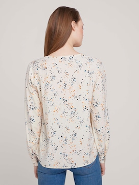 Blouse with balloon sleeves - 2 - TOM TAILOR Denim