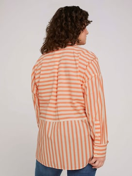 Striped shirt blouse - 2 - My True Me
