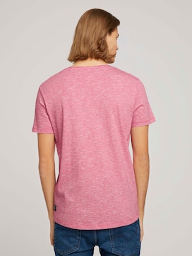 structured T-shirt with pocket - 2 - TOM TAILOR Denim