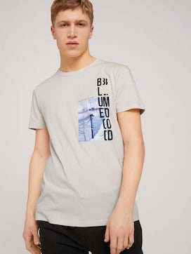 T-shirt with fotoprint made with organic cotton   - 5 - TOM TAILOR Denim