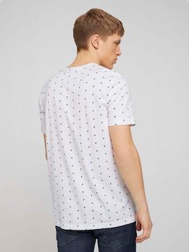 T-shirt with alloverprint made with organic cotton   - 2 - TOM TAILOR Denim