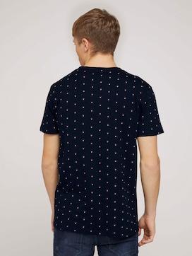 T-shirt met dessin met biologisch katoen  - 2 - TOM TAILOR Denim