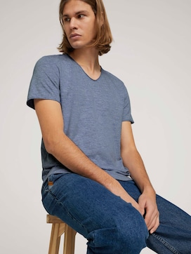 strukturiertes T-Shirt - 5 - TOM TAILOR Denim