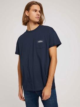 Tshirt mit Brusttasche - 5 - TOM TAILOR Denim