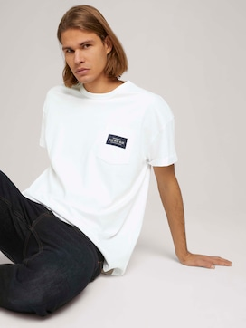 T-shirt met borstzak - 5 - TOM TAILOR Denim
