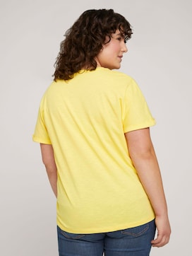 T-shirt with small embroidery - 2 - My True Me