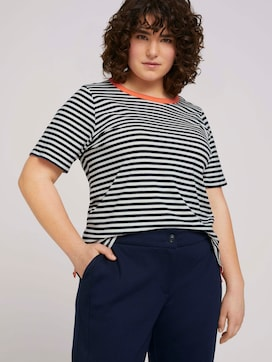Striped t-shirt made with organic cotton   - 5 - My True Me