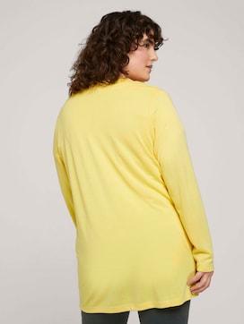 Shirt cardigan with pockets - 2 - My True Me