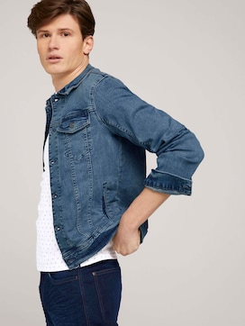 Trucker-Jeansjacke im Used-Look - 5 - TOM TAILOR