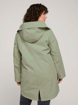 summer parka made with recycled polyester   - 2 - My True Me