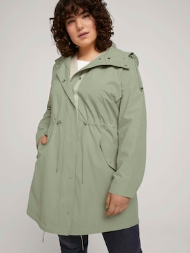 summer parka made with recycled polyester   - 5 - My True Me