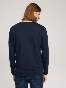 Sweatshirt mit Bündchen - 2 - TOM TAILOR Denim