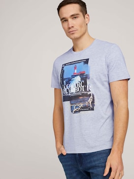 t-shirt made with organic cotton  - 5 - TOM TAILOR