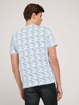 allover printed t-shirt made with organic cotton  - 2 - TOM TAILOR
