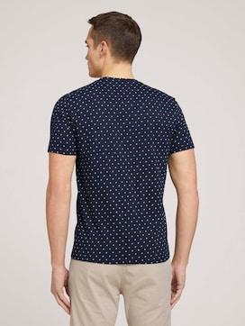 T-shirt met dessin met biologisch katoen  - 2 - TOM TAILOR