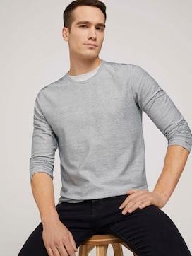 Gestreept overhemd met lange mouwen - 5 - TOM TAILOR