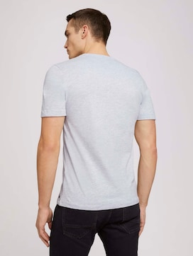 soft henley made with organic cotton   - 2 - TOM TAILOR