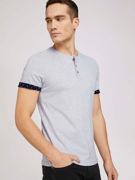 soft henley made with organic cotton   - 5 - TOM TAILOR