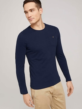 longsleeve made with organic cotton  - 5 - TOM TAILOR