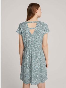 Mini-Kleid mit LENZING(TM) ECOVERO(TM) und Rückendetail - 2 - TOM TAILOR Denim