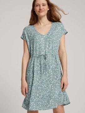 Mini-Kleid mit LENZING(TM) ECOVERO(TM) und Rückendetail - 5 - TOM TAILOR Denim