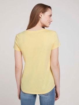 T-shirt met biologisch katoen  - 2 - TOM TAILOR Denim