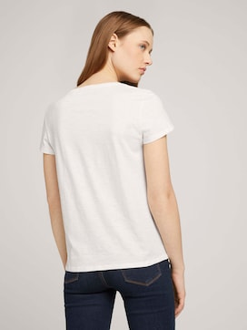 Gestreiftes T-Shirt mit Bio-Baumwolle - 2 - TOM TAILOR Denim