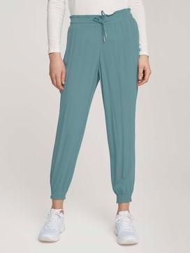 Flowing fabric harem trousers - 1 - TOM TAILOR Denim