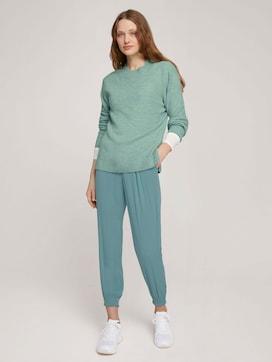 Flowing fabric harem trousers - 3 - TOM TAILOR Denim