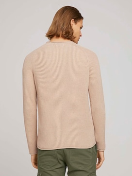 rib structured crewneck made with organic cotton   - 2 - TOM TAILOR Denim