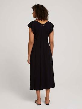 Midi dress with a drawstring - 2 - TOM TAILOR Denim