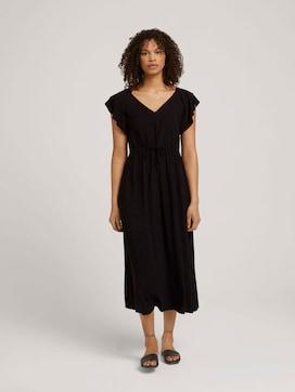 Midi dress with a drawstring - 5 - TOM TAILOR Denim