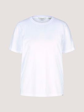 Basic T-Shirt mit Bio-Baumwolle - 7 - Mine to five