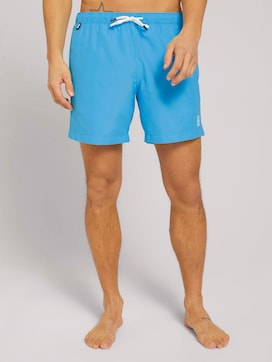 Basic swimming shorts with recycled polyester - 1 - TOM TAILOR