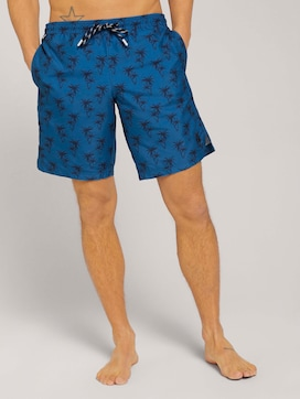 Swimming shorts with recycled polyester - 1 - TOM TAILOR
