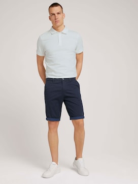 Josh Regular Slim Chinoshorts - 3 - TOM TAILOR